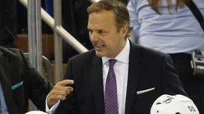 Head coach Jon Cooper of the Tampa Bay