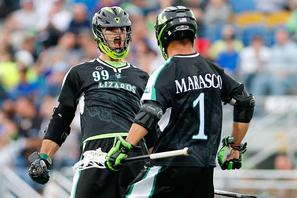 Paul Rabil #99 of the New York Lizards