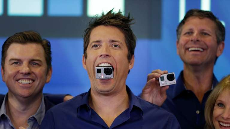 GoPro CEO Nick Woodman ranks No. 5 with