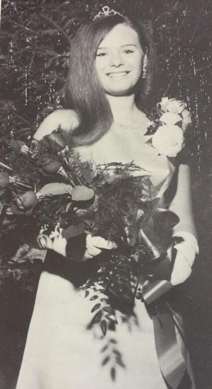Mary Ellen Sullivan was crowned queen of Huntington