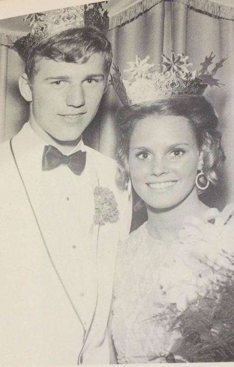 Dana Friend and Robin Scheirenbeck were crowned king
