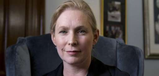Sen. Kirsten Gillibrand, D-N.Y., poses for a portrait