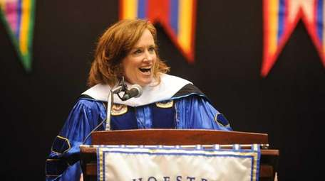 U.S. Representative Kathleen Rice speaks during the 2015