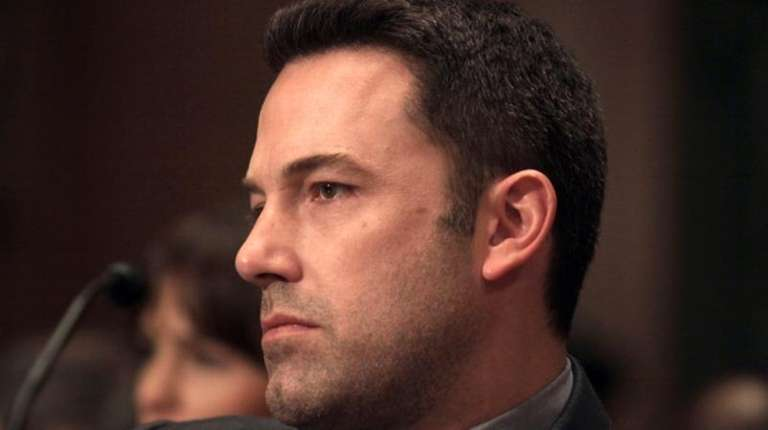 Actor Ben Affleck appears on Capitol Hill in