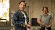 Jon Hamm as Don Draper on the series