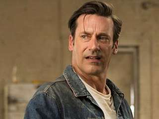 Jon Hamm as Don Draper on the series