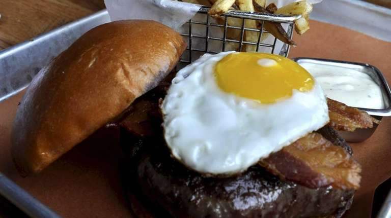 New York Burger Bar in Massapequa serves its