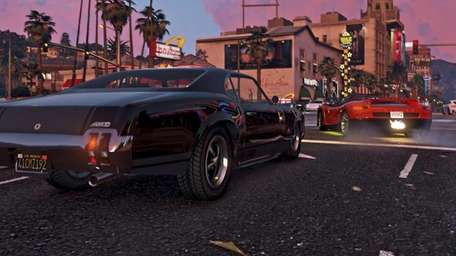 Grand Theft Auto V (PC version) (Rockstar)