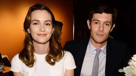 Leighton Meester and Adam Brody attend the 68th