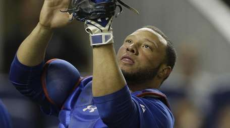 Catcher Wellington Castillo was traded from the Cubs