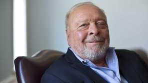 Nelson DeMille in his Garden City Off office.