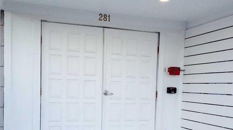 The doors of the new Beautique restaurant is