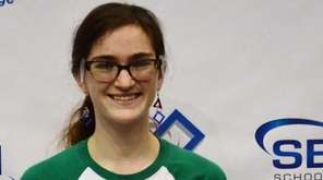 Savannah Legg, 18, a senior at Longwood High