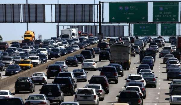 In this May 24, 2013, file photo, traffic