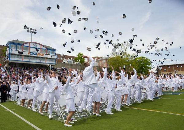 Members of the graduating class of 2015 U.S.