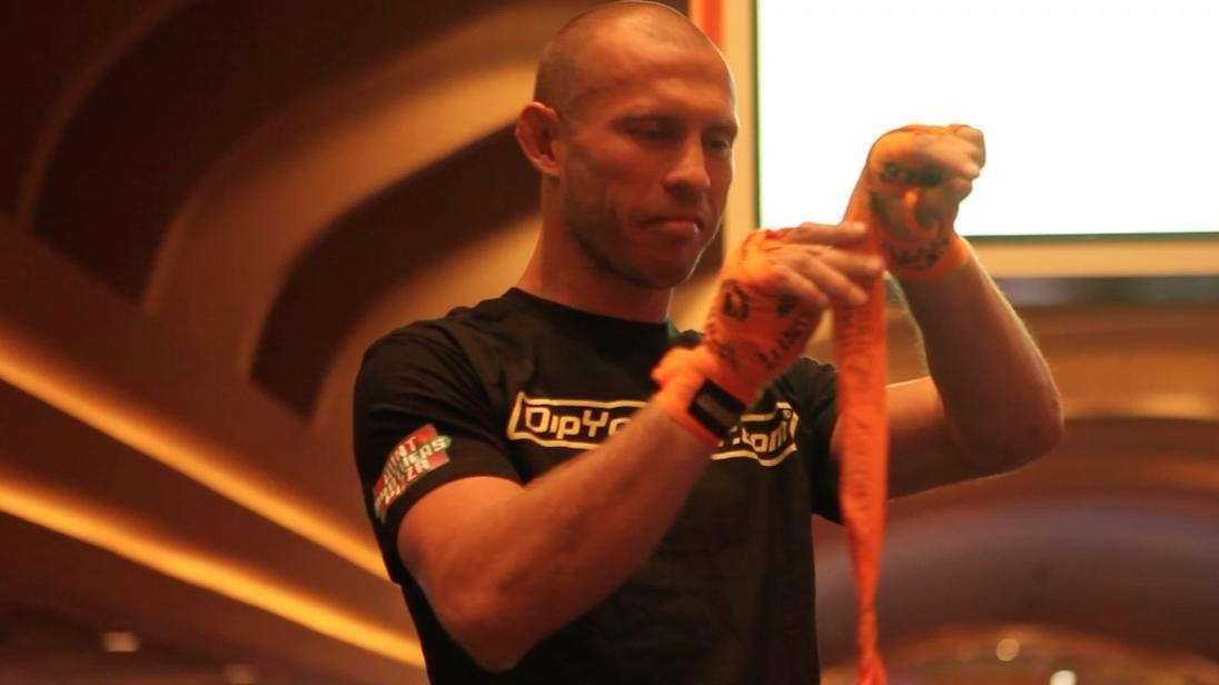 'Cowboy' Cerrone workout