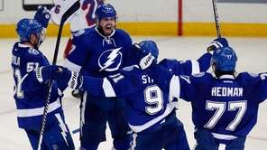 Alex Killorn #17 of the Tampa Bay Lightning