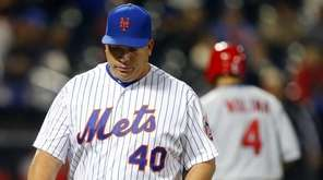 Bartolo Colon #40 of the New York Mets