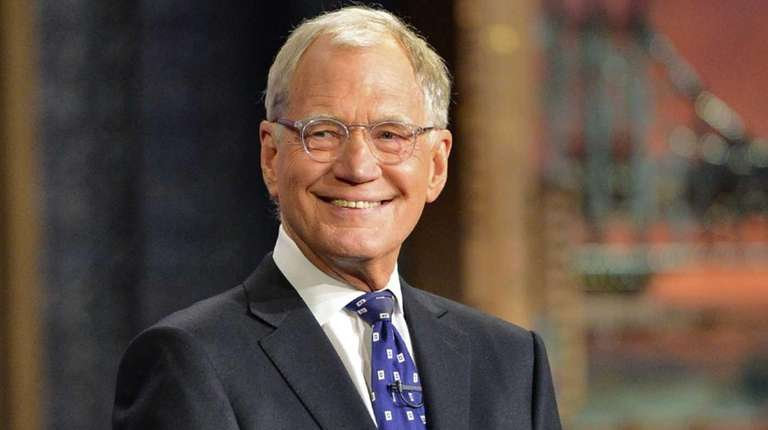 David Letterman hosts his final broadcast of