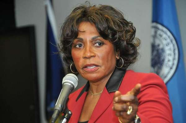 Assemb. Earlene Hooper (D-Hempstead), the deputy speaker, speaks