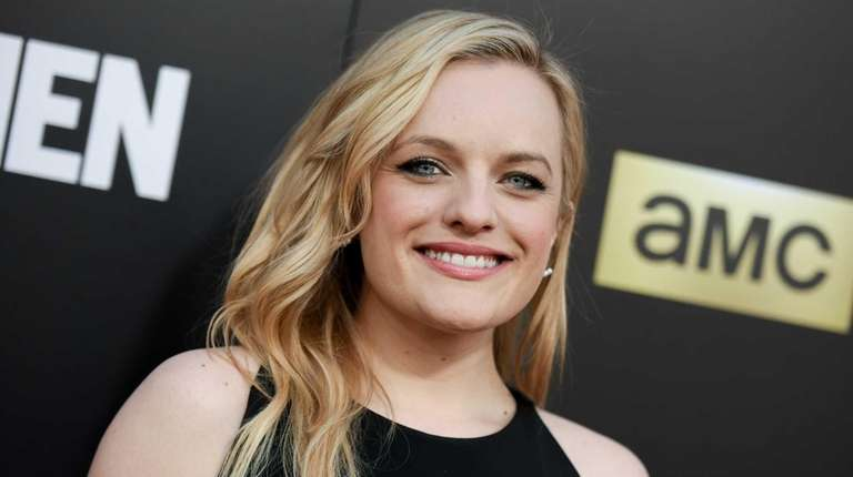 Elisabeth Moss arrives at the live read and