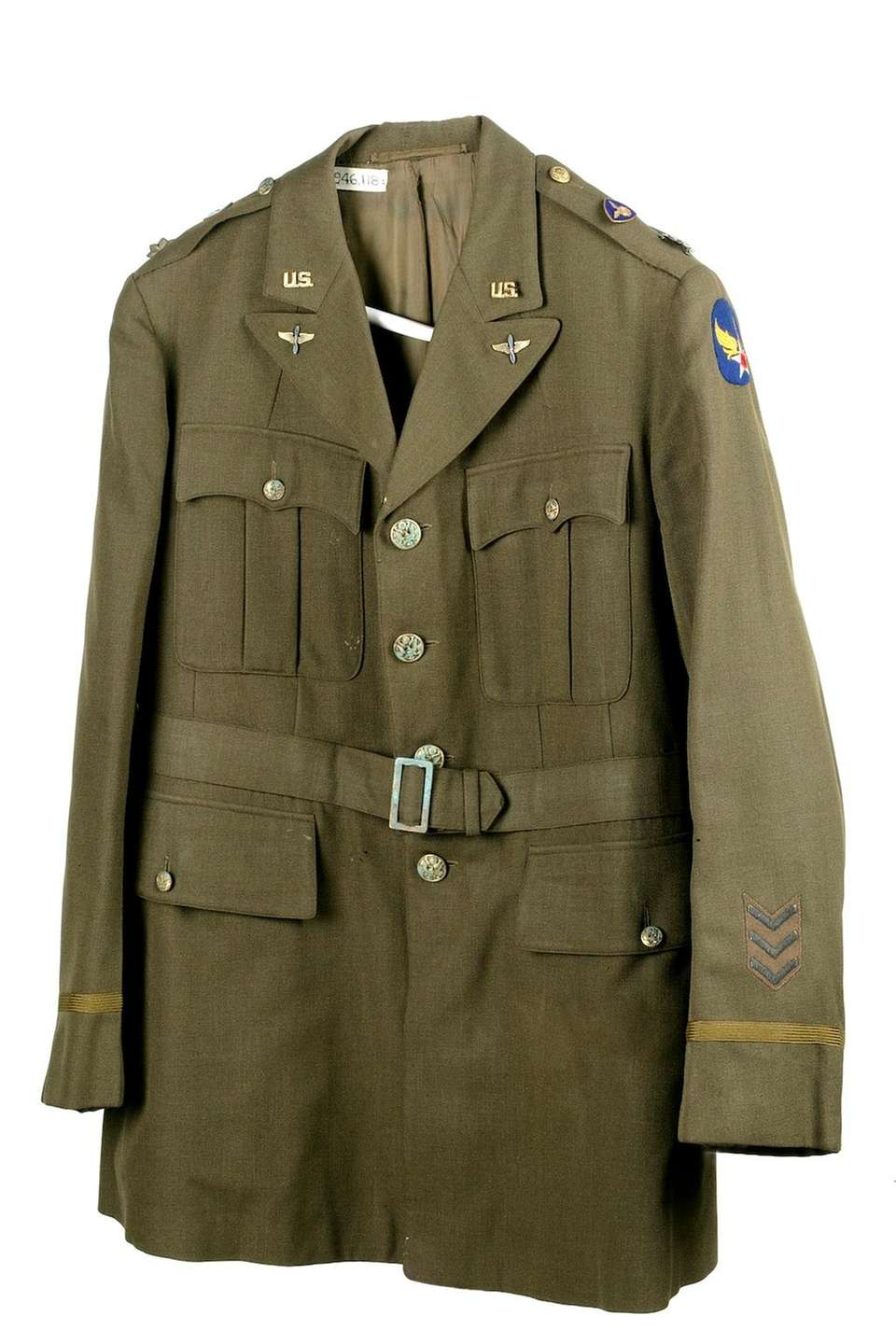This wool officer's coat produced by Brooks Brothers