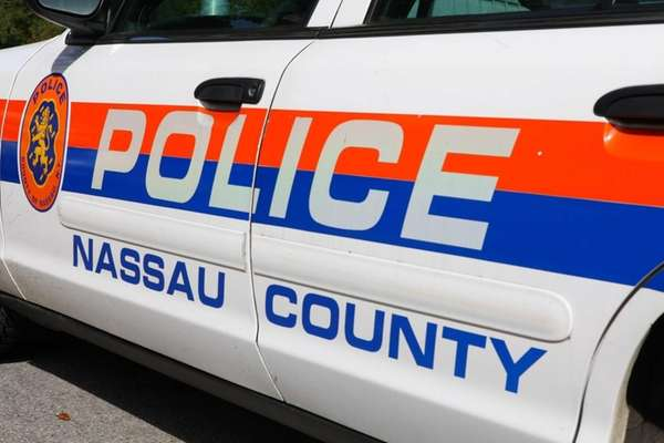 A Nassau County Police patrol car is shown