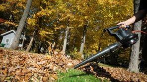 Leaf blower.