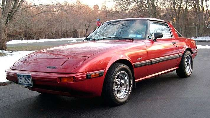 This 1982 Mazda RX-7 owned by Alan Gaites