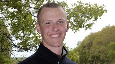 Suffolk individual champion Robert Montagnino of Smithtown West