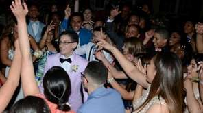 Copiague High School senior John Costa, 17, danced