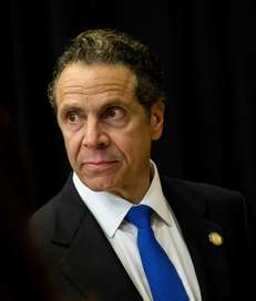 Gov. Andrew M. Cuomo at an event in