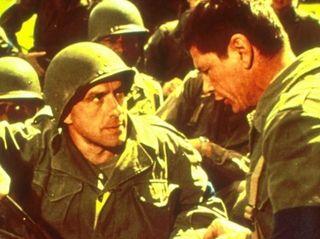 """John Cassavetes in """"The Dirty Dozen."""""""
