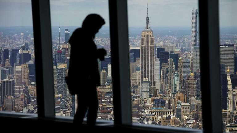 At One World Observatory, its ground level to