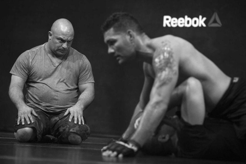 Former UFC welterweight champion Matt Serra keeps a