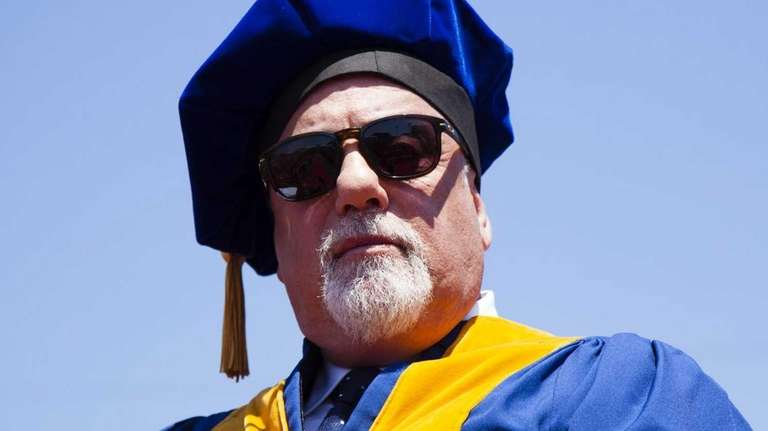 Singer Billy Joel receives a doctorate of music