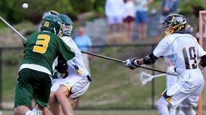 Ward Melville midfielder Jake McCulloch scores the game-winner