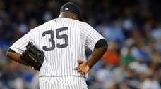 Michael Pineda #35 of the New York Yankees
