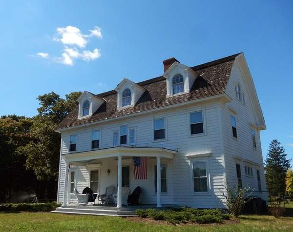 John Havens Scudder Homestead in Center Moriches. (June