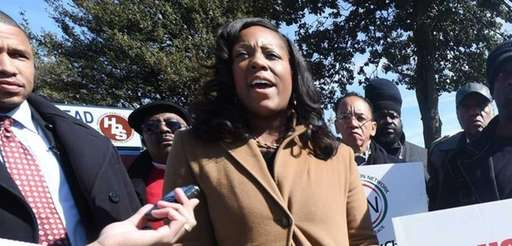 Dominique Sharpton is shown in this file photo