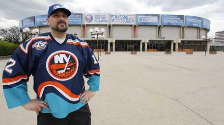 Joe Lozito, a die hard Islanders fan who