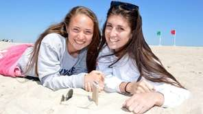 Emily Sauvayre and Sabrina Torrado hang out at