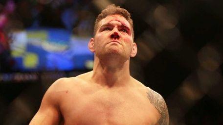 Middleweight champion Chris Weidman of Baldwin defends his