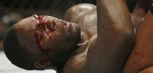 Anthony Johnson gets pounded by Daniel Cormier during