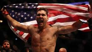 Middleweight champion Chris Weidman of Baldwin defends his
