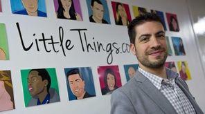 Joe Speiser, from Manhasset, the founder of LittleThings.com,