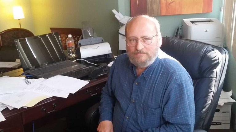 Attorney John Stravato is seen here in his