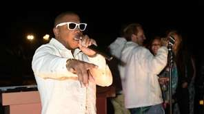 Queens-born, rapper, singer and actor Ja Rule performs