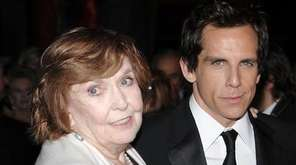 Actress Anne Meara, left, with her son Ben