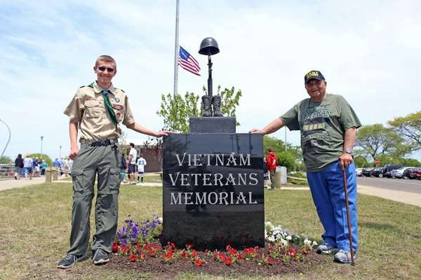 Peter Dugan of Wantagh, an Eagle Scout and
